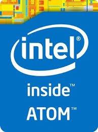 intel inside ATOM エンブレムシール