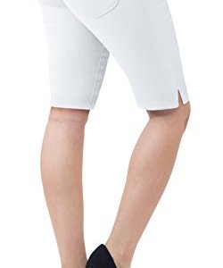 """HyBrid & Company Womens 11.5"""" Inseam Butt Lift Stretch Bermuda Shorts 9 Fashion Online Shop Gifts for her Gifts for him womens full figure"""