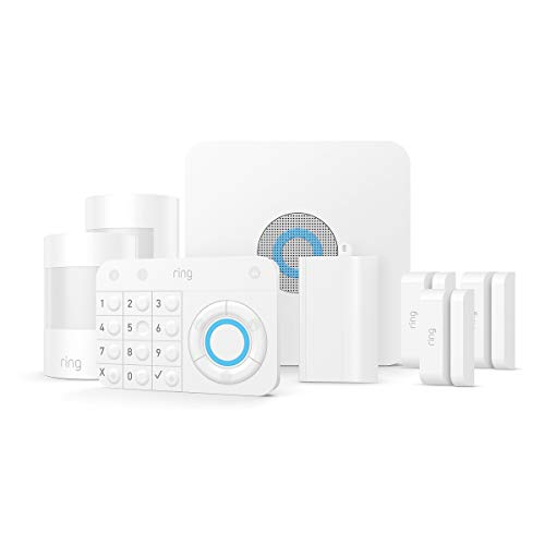 Ring Alarm 8 Piece Kit (1st Gen) – Home Security System with optional 24/7 Professional Monitoring – No long-term… 1