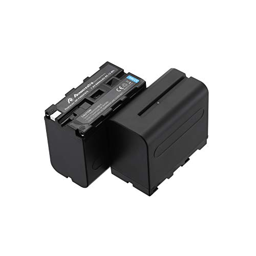 Powerextra-2-Pack-Replacement-Sony-NP-F970-Battery-Compatible-with-Sony-DCR-VX2100-DSR-PD150-DSR-PD170-FDR-AX1-HDR-AX2000-HDR-FX1-HDR-FX7-HDR-FX1000-HVL-LBPB-HVR-HD1000U-HVR-V1U-HVR-Z1P