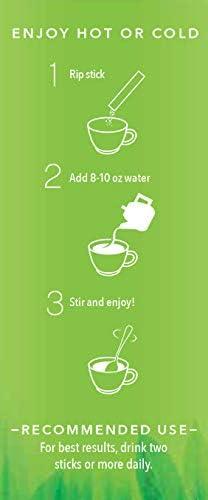 Lean + Green, Premium, 100% Sencha Green Tea, Super Citrimax (Garcinia Cambogia) & Gymnema Sylvestre, for Weight Management, Appetite Control and Sugar Balance 24 ct, Javita 4