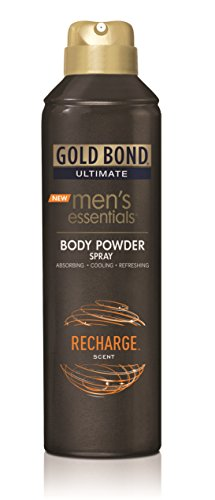Gold Bond Men's Essentials Body Powder Spray Recharge 7 Ounce