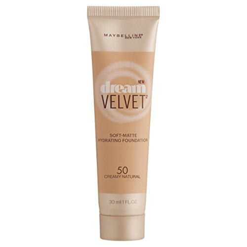 Maybelline Dream Velvet Soft-Matte Hydrating Foundation, Creamy Natural, 1 fl. oz.