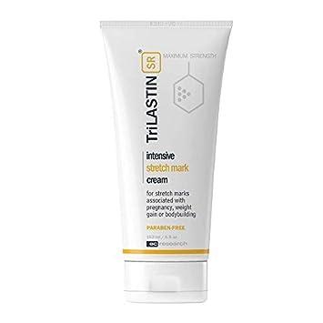 Amazon Com Trilastin Sr Maximum Strength Stretch Mark Cream Unscented   Fl Oz Hypoallergenic Paraben Free Formula Maternity Skin Care Products