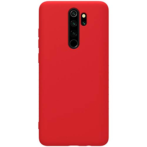 Nillkin Rubber Wrapped Protective Cover Case for Xiaomi Redmi Note 8 Pro (Red) 197