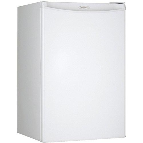 Danby DAR044A4WDD Compact Refrigerator, 115 V, 15 A, 1 Door, 4.4 cu-ft, White