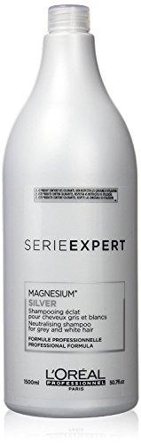 L'Oreal Professional Serie Expert Silver Shine Reviving Shampoo, 50.7 Ounce