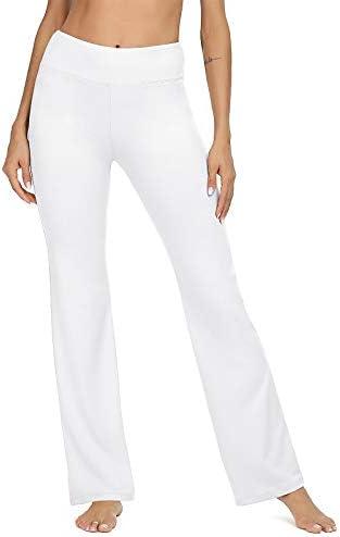 VIISHOW Women's Boot-Cut Yoga Pants Tummy Control Workout Non See-Through Bootleg Yoga Pants 1