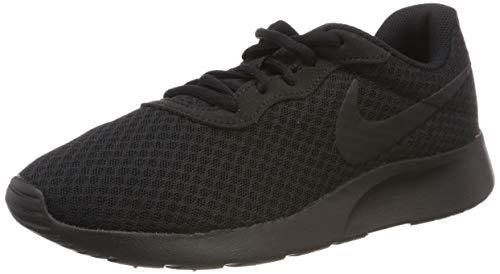 Nike Men's Tanjun Premium Running Sneaker Black/Black/Anthracite 10.5