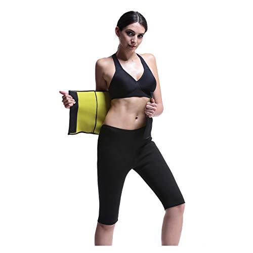 RoseJeopal Sauna Waist Belt hot Sweat Neoprene AB Slimming Belt for Women Belly Fat Burner, Waist Cincher Girdle for Weight Loss,Hot Thermo Waist Trainer