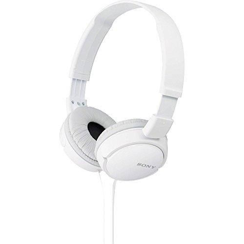 Sony MDR-ZX110 Overhead Headphones - White