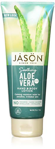 Jason Pure Natural Aloe Vera 84% Moisturizing Hand & Body Lotion - 8 oz