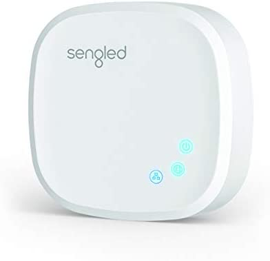 Sengled Smart Hub, For Use with Sengled Smart Products, Compatible with Alexa, Google Assistant and Apple HomeKit, New Version,E39-G8C,White