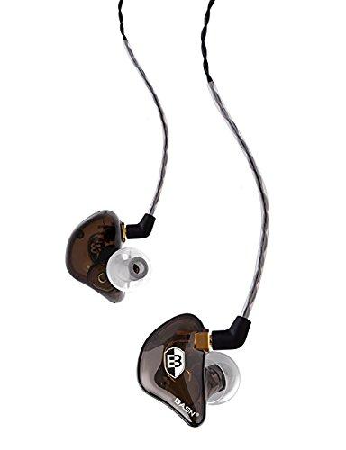 BASN BsingerBC100 Singer Headphones with MMCX Detachable Cable, Noise Cancelling In-Ear Monitor Earphones