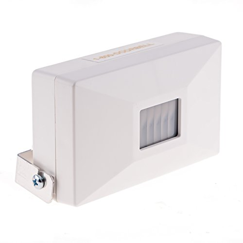 Simple to Use Entrance Alert Chime with PIR Sensor, Adjustable Volume Control. Commercial Grade Entry Alert Doorbell for Smaller Retail Stores, Convenience Stores, Fast Food Restaurants & Shops