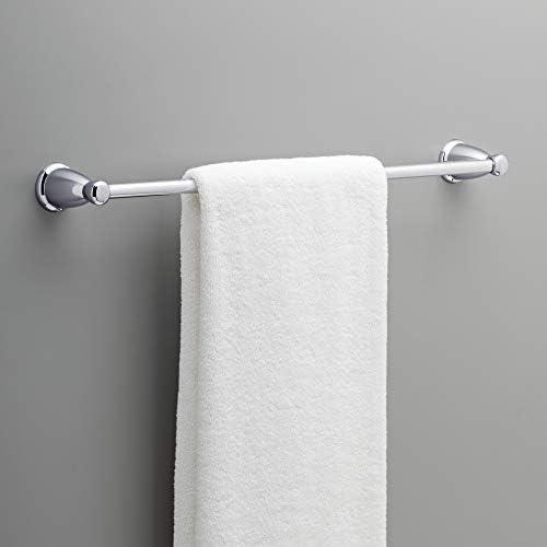 Franklin Brass Kinla Towel Bar Accessory Set, Polished Chrome Bathroom Towel Holder, Bathroom Accessories, KIN5PC-PC