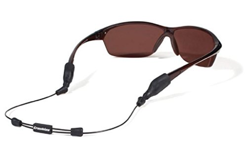 Croakies Arc Endless System Sport Eyewear Retainer, Black, 14'/X-Large/XX-Large