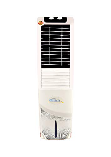 314cEgeICaL - Himalaya Coolers Personal Room Air Cooler with Silent Fan and Honeycomb Pads (40 L Capacity, White)