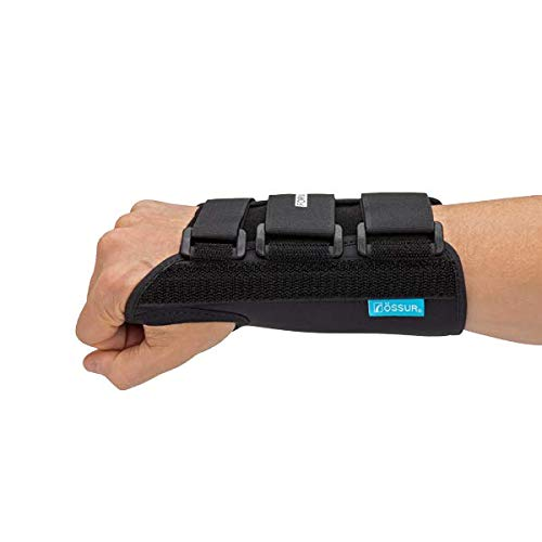 Ossur Formfit Wrist Brace for Treatment of Tendonitis - Wrist Immobilization, Breathable Material, Contact Closure Straps & Customizable Stays (Small - Right - 8' Version)