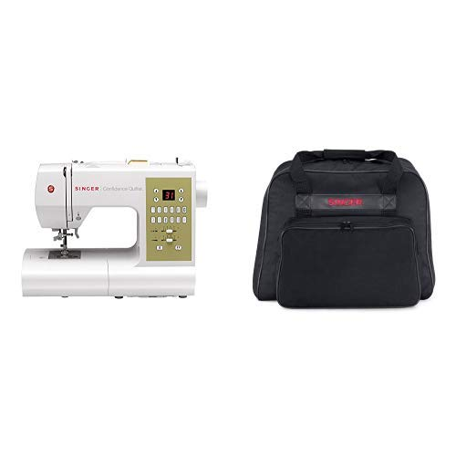Singer Confidence QuilterTM 7469Q Virtual Bundle with Black Carrying Case