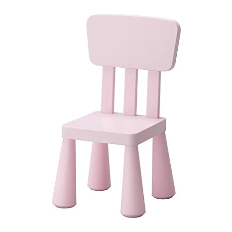 Ikea Mammut Sedia Per Bambini Colore Rosa Chiaro