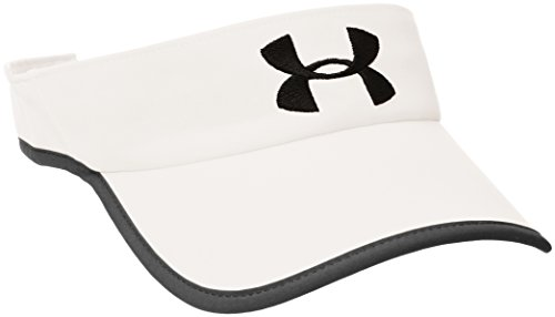 Under Armour Shadow Visor 2.0 Hat, White /Black, One Size