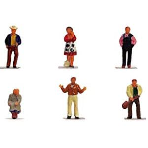 Hornby OO Gauge Farm People 1:76 Scale Miniature Figures for Model Train Layouts R7118 315lABi60NL