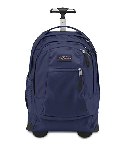 Jansport Driver 8 Core Series Wheeled Backpack, Navy