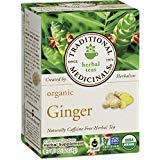 Traditional Medicinals Organic Ginger Herbal Tea, 16 Count (Pack of 1)