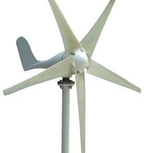 MarsRock Wind Turbine Generator Economy 2m/s Low Star-up Wind Speed 100W 200W 300W 400W Windmill AC 12V or 24V 5 Blades