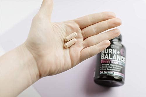 Weight Loss Pills for Women + Daily Balance Vitamins (Iron, Vitamin D, Setria®, Folate,+) Premium Diet Pills for Women + Womens Multivitamin with Iron, D & B Vitamins & Hormone Balance for Women 5