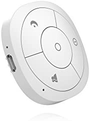 Hank Z-Wave Plus Four Button Scene Controller HKZW-SCN04, White, Works with SmartThings (with custom handler) and Vera