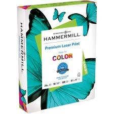 Hammermill - Laser Print Paper, 24lb, 98 Bright, 8.5 x 11' - Ream (Pack 5)