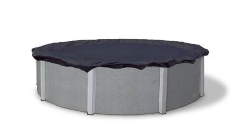 Blue Wave Bronze 8-Year 24-ft Round Above Ground Pool Winter Cover