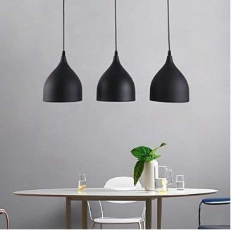 DECORVAIZ-5-Watts-Ceiling-Light-Black-Pack-of-2