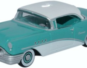Buick Century, Turqois/white, 1955, Model Car, Ready-made, Oxford 1:87 3173OWVpCHL
