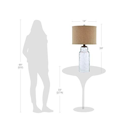 Catalina-Lighting-21910-000-3-Way-Textured-Gemstone-Inspired-Glass-Table-Lamp-with-Linen-Hardback-Shade-29-Clear