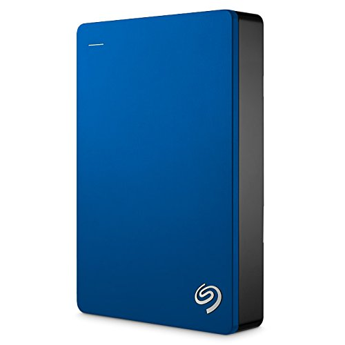 Seagate Backup Plus Portable 5TB External Hard Drive HDD – Blue USB 3.0 for PC Laptop and Mac, 2 Months Adobe CC Photography (STDR5000102)