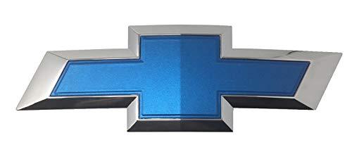 Qbc Craft Chevy Bowtie Emblem Vinyl Overlay (3 Pack) Matte Blue Metallic 3M Cut-Your-Own Car Wrap Kit DIY GM Symbol Logo Easy to Install Air Release Film 12' x 4' Sheets (x3)