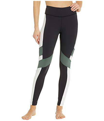 715hWNTN3EL Stand out at the gym in the eye-catching print of the Reebok® Lux Tights - Color Block. Speedwick technology wicks away sweat.