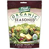 Fresh Gourmet Organic Seasoned Premium Croutons (Case of 9)