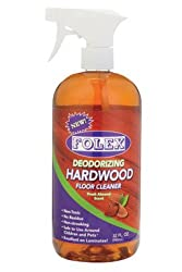 Folex Professional Deodorizing Hardwood Floor Cleaner - Best for Pets