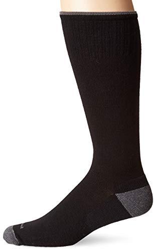 Sockwell Men's Elevation Graduated Compression Socks, Black, Medium/Large