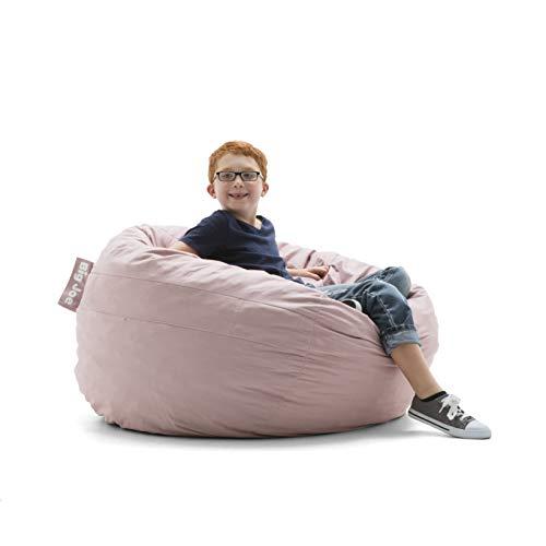 Big Joe 0030653 Kid's Fuf Filled Chair, Desert Rose Lenox Shredded Foam Bean Bag,