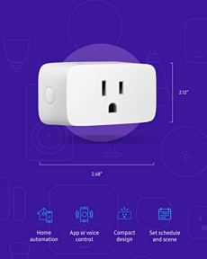 SAMSUNG-SmartThings-WiFi-Plug-In-Outlet-for-Smart-Home-Control-Connected-Devices-Monitor-Energy-Usage-Operate-with-Voice-Commands-No-Hub-Required-White