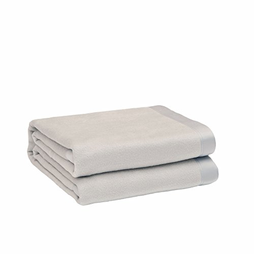 CUDDLE DREAMS Silk Blanket for All Seasons, Premium Mulberry Silk, Naturally Soft, Breathable (Silver Gray, Full/Queen…