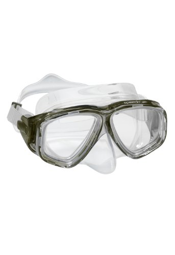 Speedo Adult Recreation Dive Mask, Smoke, One Size