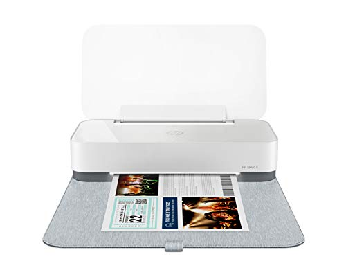 HP Tango X Smart Home Printer with Indigo Linen cover – Designed for your Smartphone with Remote Wireless Printing, Instant Ink Ready and works with Alexa (3DP64A)