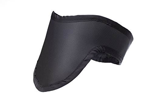 Thyroid Shield Light Weight Radiation Protection 0.5mm Pb Lead Equivlancy in Black