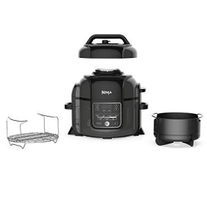 Ninja Foodi 9-in-1 Pressure, Broil, Slow Cooker, Air Fryer, and More, with 6.5 Quart Capacity and 45 Recipe Book, and a… 2